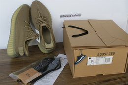 Wholesale Multi Keyring - Latest SPLY 350 V2 DA9572 Dark Green Zebre Triple White Bred kanye Western shoes running shoes (keyring socks bag receipt box)