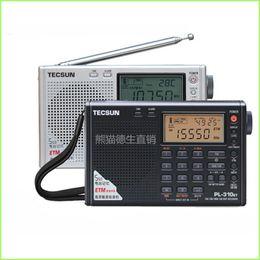Wholesale Tecsun Sw Shortwave - Wholesale-2015 new style TECSUN PL-310ET FM AM MW SW LW DSP Receiver WORLD BAND Shortwave RADIO Digital Demodulation Stereo Radio