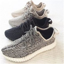 Wholesale Black Moon Boots - 2016 Oxford Tan Originals Kanye West 350 Boost Sneakers Men's Sports Running Shoes Moon Rock Turtle Dove Grey Pirate Black Sneaker