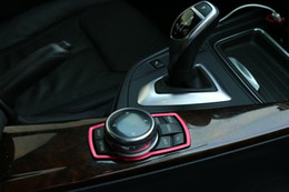 Wholesale Diamond Decorations Stickers - Car Interior Decoration Accessories styling aluminium alloy diamond Sticker case for BMW 1 3 5 Sereis X3 X5 X6