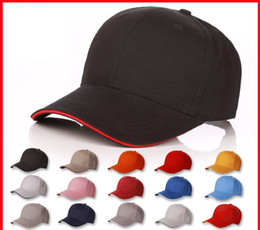 Wholesale Advertising Caps - The New Spot Cotton Men Outdoor Cap For Winter Logo Customed Advertising Caps Cotton Material Baseball Hat 6 5hx