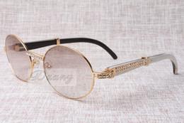 High-end yuvarlak elmas güneş gözlüğü 7550178 doğal Siyah ve beyaz açı gözlük çerçevesi güneş gözlüğü erkek Kadın gözlük boyutu: 57-22-135mm cheap female spectacle frames nereden bayan gözlük çerçeveleri tedarikçiler