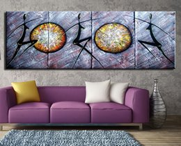 Wholesale Original Handmade Wall Art - Wall art OiL painting on canvas handmade Modern style Original works Wholesale and retail