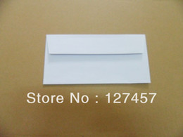 Wholesale Printable Plastics - Wholesale- western style mailer DL 110x220mm size blank printable envelope with self sealing glue