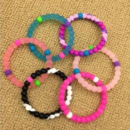 Deutschland Kinder Silikon Balance Armband S / M / L / XL 53 Farben Großhandel Silikonbänder mit Tag für Kinder und Erwachsene Versorgung