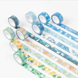 Wholesale Japanese Style Washi Masking Tape - Wholesale- 2016 1.5cm*7m Japanese style washi tape DIY decoration scrapbooking planner masking tape adhesive tape label sticker stationery