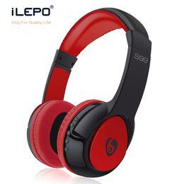 Wholesale Handsfree Bluetooth Earphone - S99 Wireless DJ Stereo Audio Headphone Bluetooth Stereo Headset Handsfree Headphones Earphones with Radio FM High quality Wearing Earbuds
