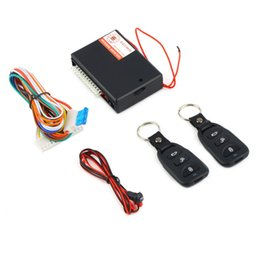 Wholesale Auto Door Controller - New Universal Car Auto Remote Central Kit Door Lock Locking Vehicle Keyless Entry System New With Remote Controllers