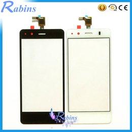 4,5-zoll-bildschirm-handy online-Großhandels- 4.5 Zoll Handy Objektiv Touchscreen Digitizer Frontglas für BQ Aquaris M4.5 Touchscreen Touch Panel für BQ Aquaris M4.5