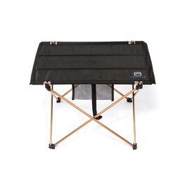 Wholesale Aluminium Picnic Table - High Quality Aluminium Alloy Ultra-light Portable Folding Table Foldable Outdoor Camping Picnic Desk 690g 7075 H11599