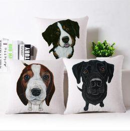 Wholesale French Sofas - Home Decor Pug Dog Cushion Cover Sleep Throw Pillpw almofada Animal Coussin For Sofa French Bulldog Decoratove