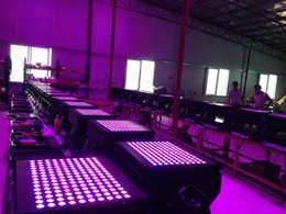 Wholesale Light Road Cases - Free shipping Road Case Packing 150X3W LED Building Wash Light Outdoor 3-in-1 RGB LED City Color Light for Sale