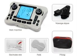 Wholesale Tens Unit Massager - TENS UNIT Electrical nerve muscle stimulator Dual channel output TENS EMS pain relief Digital therapy massager Physiotherapy