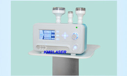 Wholesale Screen Remover - New korean technology magic line touch screen 3 heads Vacuum RF radio frequency 3 colors red blue green LED lights biolight therapy machine