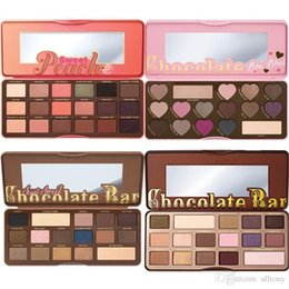 Wholesale Palette Neutral Eye Shadow - Too faced makeup Chocolate Natural Love Eye Shadow Collection Palette Ultimate Neutral 16 Color Eye Shadow Palette DHL free shipping