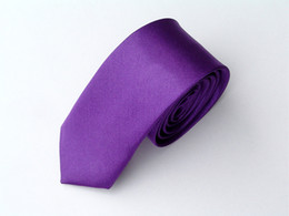 Wholesale Yellow Skinny Tie - Non brand Slim Skinny Tie Neck Tie Mens Neck TIE 100pcs lot new #1331