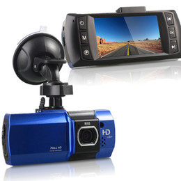 Wholesale Lcd Display Car Mirror - Novatek 2.7 Inch LCD HD Full 1080P Car DVR Dash Cam Camera Video Recorder G-sensor Night Vision Video Recorder Car DVR