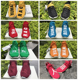Wholesale Original Nmd Human Race Pink Friends And Family Black Species Being Men Women Sports Running Shoes Sneakers Nmds Pharrell Williams Humanrace