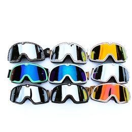 Wholesale Motorcycle Cycling Helmets Ski Mask - 100%25 Barstow Motorcycle Goggles Dirt pit Bike Off Road Helmet Glasses Mask MTB Bike Cycling Sunglasses Sports Ski Eyewear Mens