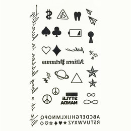 Wholesale Color Eye Stickers - Wholesale- 2016 New Cartoon Water Transfer Waterproof Temporary Candy Color Tattoo Sticker Body Art Sexy Makeup