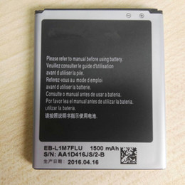 Wholesale S3 Mini Accessories - Replacement Battery Rechargeable For Original Samsung Galaxy S3 Mini S3Mini GT-I8190 I8190N EB-L1M7FLU Phone Accessories