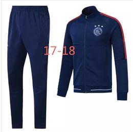 Wholesale Free Suits - AAA Top quality ajax jackets 17 18 KLAASSEN jackets DOLBERG FISCKEA YOUNES SANOGO 17 18 training suit jacketS Sweatshirt free shipping