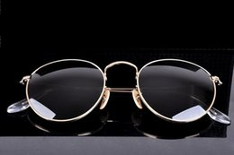 Wholesale Ancient Sunglasses - Women's sunglasses Fashion brand sunglasses High quality glass lenses restoring ancient ways round female glasses hot sales