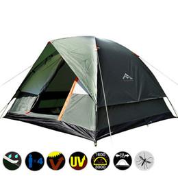 2019 tenda inflável de cubo 3 Pessoa 200 * 200 * 130 cm Camada Dupla Resistente Ao Clima Tenda De Acampamento Ao Ar Livre para a Pesca Caça Aventura e Festa de família