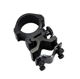 Wholesale Laser Bracket - Hunting Adjustable 25mm Ring and 20mm Rail Mounted for flashlight Mount Laser Torch Barrel Bracket
