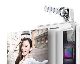 Wholesale Bluetooth Gps Mirror - huawei honor7i 4Gsmartphone mobile phone smart phone 1300w pixel back mirror; 180 ° rotating lens