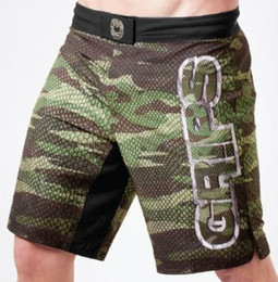 Wholesale Muay Thai Trunks - high quality sports Shorts men MMA Fashion Fight GRIPS shorts Muay Thai kickboxing combat Boxing Training Trunks Man Pants plus size