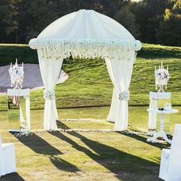 Rabatt Tulle Verbeugt Hochzeitsdekorationen 2018 Tulle Verbeugt