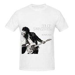 Blackhawks jersey Bruce Springsteen Nascido Para Runer Soul Mens Gola Camisas Gráficas Camisas Men Lastest de