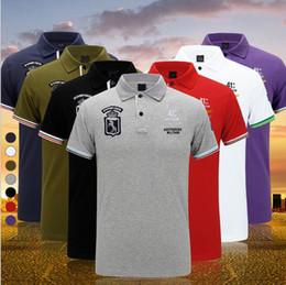 Wholesale Men S Brand Golf Polo - New embroidery LOGO Men's Brand Polo Shirt For Men Designer Polos Men Cotton Short Sleeve shirt Brands jerseys golf tennis Free Shipping