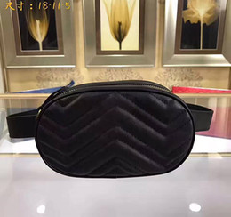 Wholesale Party Pillow - brand new genuine belt bag famous designer velvet waist bag high quality Waistpacks with long strap 245