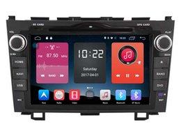 Wholesale Dvd Gps Navigation Crv - Navirider 2GB RAM QUAD CORE Android 6.0 Car DVD player for Honda CRV 2006-2011 radio stereo headunit GPS navigation 4g lite tape recorder