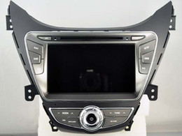 Wholesale Dvd Elantra - Navirider 2GB ram 32gb ROM octa core Android 6.0 Car DVD player GPS for HYUNDAI ELANTRA i35 AVANTE stereo head units DVR RADIO 3G GPS NAVI