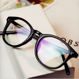 6a2a6696633 Wholesale- PC Eye Glasses Frame For Men Women Retro Eyeglasses Frames Male  Female Grade Points Vintage Optical Clear Lens Prescription optical frames  for ...
