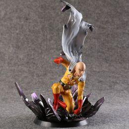 Wholesale Doll Scale - One Punch Man Saitama Action Figure scale painted figure Saitama Doll PVC figure