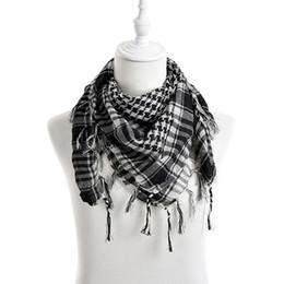 Gros-New Unisexe 5Colors Femmes Hommes Checkered Arab Grid Cou Keffiyeh Palestine Écharpe Wrap 2015 vente chaude ? partir de fabricateur