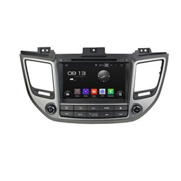 Wholesale Android Ix35 - Fit for hyundai TUCSON IX35 2012 2016 Android 5.1.1 OS 1024*600 HD car dvd player gps radio 3G wifi bluetooth dvr OBD2 FREE MAP AND CAMERA
