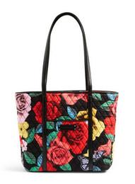 Wholesale Red Interior Trim - Small Trimmed Tote shoulder bag
