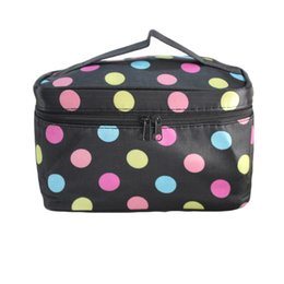 Wholesale Grey Lingerie - Wholesale- Women's Cosmetic Bag Big Travel Lingerie Bra Underwear Bags Square Case storage handbag