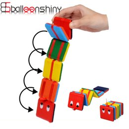 Wholesale Wooden Hand Eye Coordination Toys - Wholesale- Magic Wooden Flap Toys Colorful Board Game Toys Exercise hand-eye coordination toy Montessori education toys