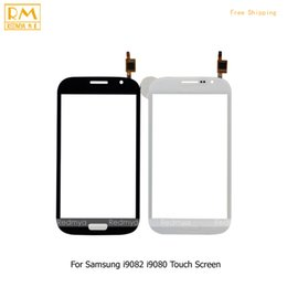 Wholesale Grand Gt - 5pcs lot For Samsung Galaxy Grand Duos GT i9082 i9080, Neo Plus i9060 i9060i i9062 Touch Screen Panel Digitizer Sensor Glass Lens Parts