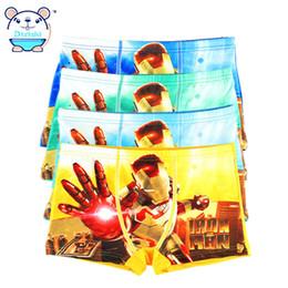 Wholesale Baby Underwear Boxer - 4 Pcs lot Kids Boys Underwear Shorts Panties For Baby Boys Boxer Children's Teenager Underwear 2017 Cotton Kids Pant for Boy