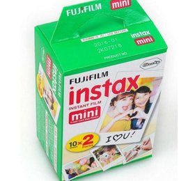 Wholesale Film Camera Iso - High quality Instax White Film Intax For Mini 90 8 25 7S 50s Polaroid Instant Camera flims