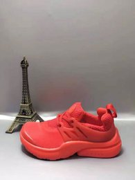 Wholesale Shoes Kids 24 - kids shoes free shopping 2017 New Presto Running Shoes for kids Air Sneakers High Quality Original Discount High Cut Sports Shoes Size 24-35