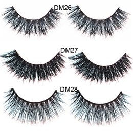 Wholesale Real Hair Styles - Natural styles Mink Hair fake eyelashes False Eyelashes Mink Hair Eye Lashes Sexy Real Mink Natural natural False Eyelash
