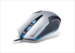Wholesale Price K - Best Price K-RAY M689 Game Mouse PC USB Wired Mechanical Gaming Mouse 3 Color LED Backlight White